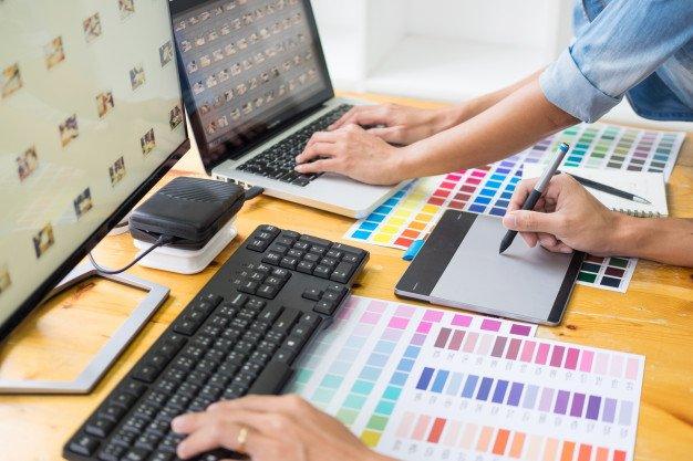 Service de création de site internet avec l'agence Marie digital