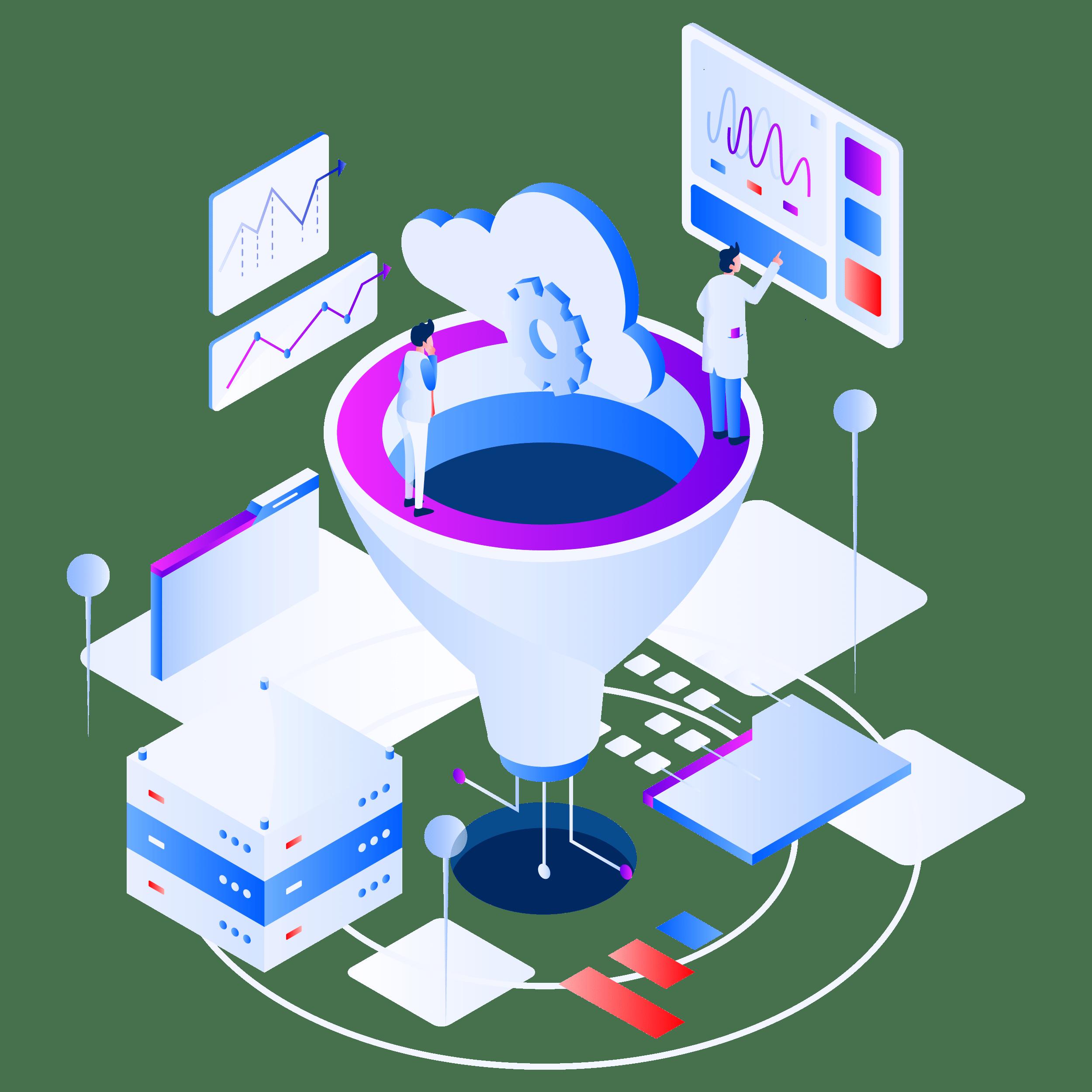 Services en marketing : Tunnel de vente